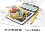 constructions materials on...   Shutterstock . vector #711052669