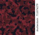 seamless elite tan red... | Shutterstock .eps vector #711076279