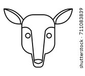 anteater animal cartoon | Shutterstock .eps vector #711083839