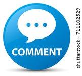 comment  conversation icon ... | Shutterstock . vector #711102529