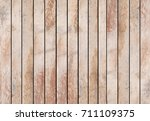 vintage aged tan brown wood... | Shutterstock . vector #711109375