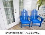 relaxing depiction of blue... | Shutterstock . vector #71112952