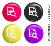 document multi color glossy...