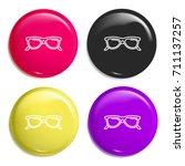 sunglasses multi color glossy...