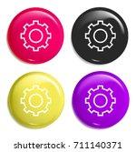 cogwheel multi color glossy...