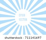 pop art sunburst background in... | Shutterstock .eps vector #711141697