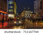 london  england   february 2017 ... | Shutterstock . vector #711167764