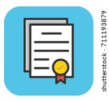 degree vector icon | Shutterstock .eps vector #711193879