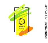 vector template logo  banner ... | Shutterstock .eps vector #711193939