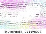 light multicolor  rainbow... | Shutterstock .eps vector #711198079