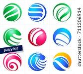 vector design element  business ... | Shutterstock .eps vector #711206914