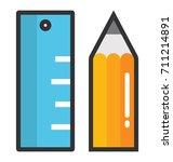 drafting vector icon | Shutterstock .eps vector #711214891