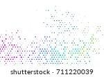 dark multicolor  rainbow vector ... | Shutterstock .eps vector #711220039