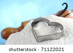 Heart Shaped Cookie Cutter On...