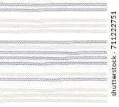 seamless pattern with ropes of... | Shutterstock .eps vector #711222751