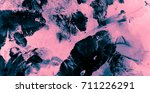 modified in pink and black blue ... | Shutterstock . vector #711226291