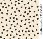 vector seamless pattern.... | Shutterstock .eps vector #711256687