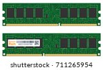 real random access memory or... | Shutterstock .eps vector #711265954