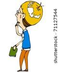 comic characters | Shutterstock .eps vector #71127544
