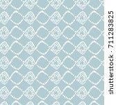 simple rhombus seamless pattern.... | Shutterstock .eps vector #711283825