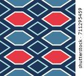 seamless abstract vector... | Shutterstock .eps vector #711295459