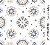 seamless tiling  vector texture ... | Shutterstock .eps vector #711301237