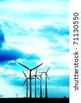 wind power plant | Shutterstock . vector #71130550