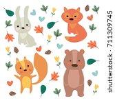 vector illustration. the... | Shutterstock .eps vector #711309745
