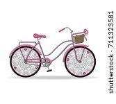 vector illustration. gentle...   Shutterstock .eps vector #711323581