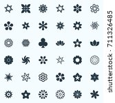 vector illustration set of... | Shutterstock .eps vector #711326485