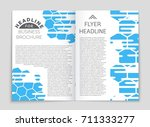 abstract vector layout... | Shutterstock .eps vector #711333277