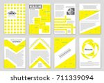 abstract vector layout... | Shutterstock .eps vector #711339094