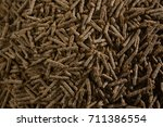 full frame of cereal bran sticks | Shutterstock . vector #711386554