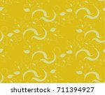 yellow seamless background ... | Shutterstock .eps vector #711394927