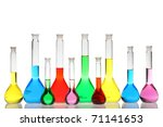 Laboratory Glassware With...