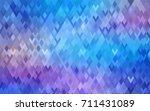 light pink  blue vector modern...   Shutterstock .eps vector #711431089