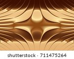 abstract  geometrical ecru silk ... | Shutterstock . vector #711475264