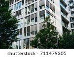 detailed view of modern... | Shutterstock . vector #711479305