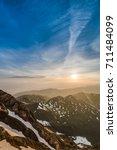 Small photo of Sunrise on Pic du Midi de Bigorre, Hautes Pyrenees, France