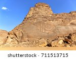 beautiful rock formations in... | Shutterstock . vector #711513715
