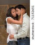 loving affectionate... | Shutterstock . vector #71152651
