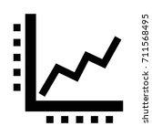 bars graphic business symbol... | Shutterstock .eps vector #711568495