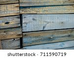 texture. old painted boards.... | Shutterstock . vector #711590719