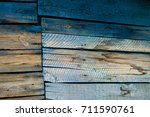texture. old painted boards.... | Shutterstock . vector #711590761