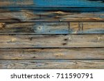 texture. old painted boards.... | Shutterstock . vector #711590791