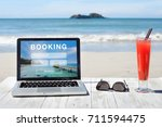 travel booking  hotels and... | Shutterstock . vector #711594475