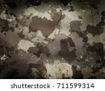 camouflage military background...   Shutterstock . vector #711599314