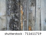 the texture of the wood. an old ... | Shutterstock . vector #711611719