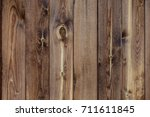 the texture of the wood. an old ... | Shutterstock . vector #711611845
