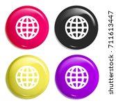 internet grid multi color...